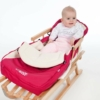Kép 2/2 - Luxus fleec téli lábzsák New Baby türkiz