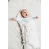 Kép 6/6 - Luxus pólya Minky-ből New Baby fehér 73x73 cm