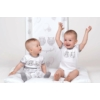 Kép 5/5 - Pelenkázó lap puha New Baby Emotions fehér 85x70 cm
