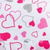 Kép 2/7 - Klasszikus megkötős pólya New Baby rózsaszín szívecskék