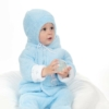 Kép 2/2 - Ttéli baba sapka New Baby Nice Bear kék