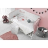 Kép 3/4 - 3 részes ágyneműgarnitúra Belisima Angel Baby 100/135 rózsaszín
