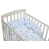 Kép 3/3 - 2 részes ágyneműhuzat New Baby 90/120 cm felhőcske rózsaszín