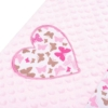 Kép 4/6 - Luxus babafészek szett párnával és paplannal New Baby Szívecske (rózsaszín)