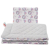 Kép 2/3 - Kétoldalas ágynemű szett Velvet New Baby - álom csapda szürke