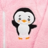 Kép 2/2 - Téli baba pulóver New Baby Penguin rózsaszín