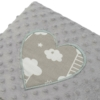 Kép 4/6 - Luxus babafészek szett párnával és paplannal New Baby Felhőcske