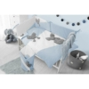 Kép 5/5 - 5 részes ágyneműhuzat Belisima Mouse 100/135 kék