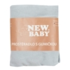 Kép 2/2 - Jersey lepedő kiságyba New Baby 120x60 szürke