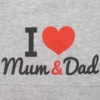 Kép 2/2 - Baba sapka New Baby I Love Mum and Dad szürke