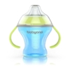 Kép 1/2 - Csöpögésmentes itatópohár BabyOno 180 ml kék