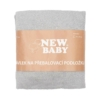Kép 2/3 - Huzat pelenkázó lapra New Baby 50x70 szürke