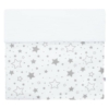 Kép 3/5 - Gyerek pamut takaró New Baby Vafle fehér csillagok 80x102 cm