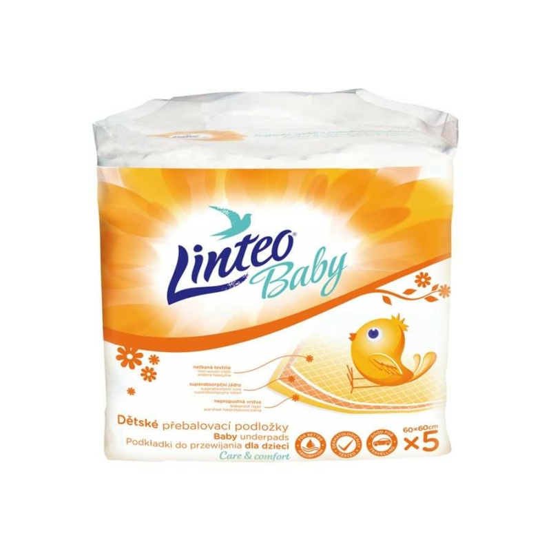 Pelenkázó alátét Linteo Baby 5db
