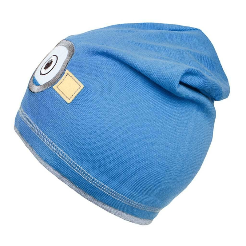 Gyerek őszi sapka New Baby mimon világos kék