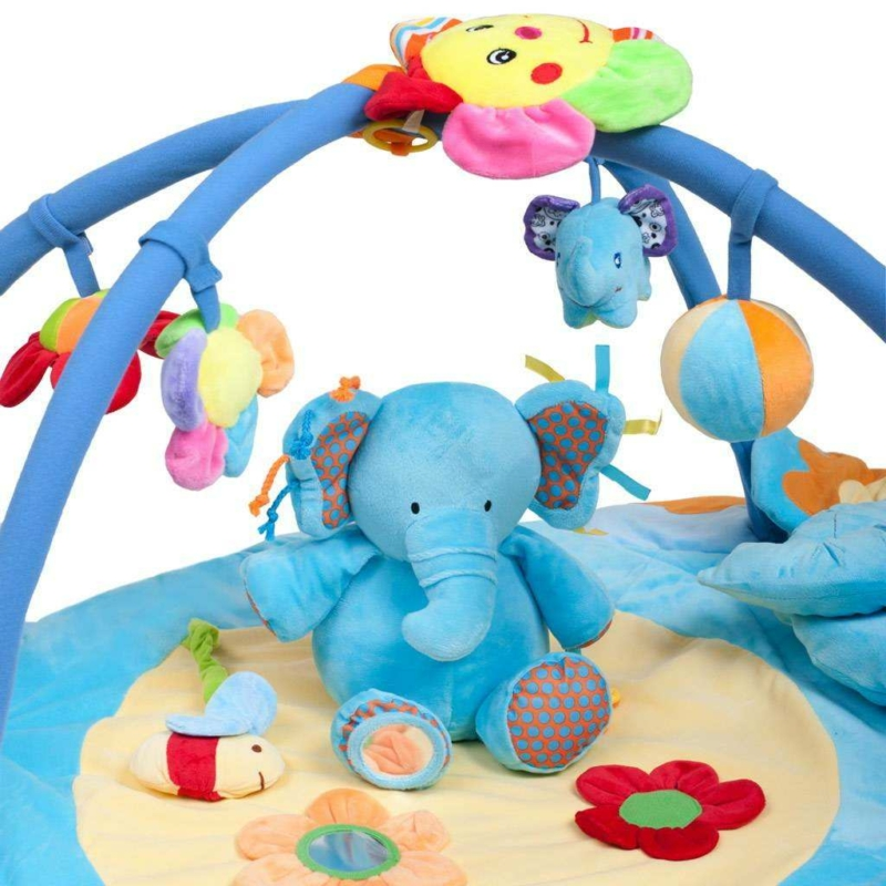 Zenélő játszószőnyeg PlayTo - elefánt