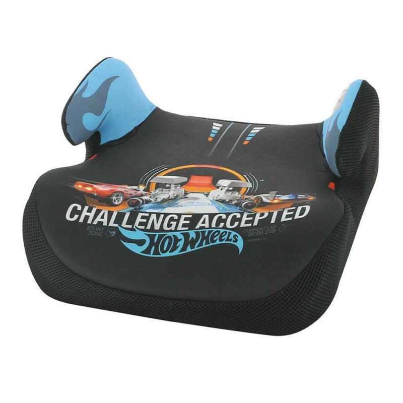 Autós gyerekülés - ülésmagasító Nania Topo Comfort Hot Wheels kék 2020